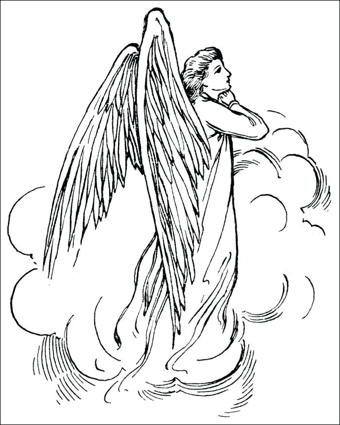 700x875 Angel Coloring Pages Printable Free Angel Coloring Pages Coloring