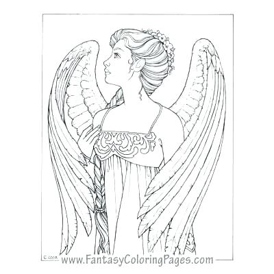 400x400 Guardian Angel Coloring Pictures Angel Coloring Pages Printable