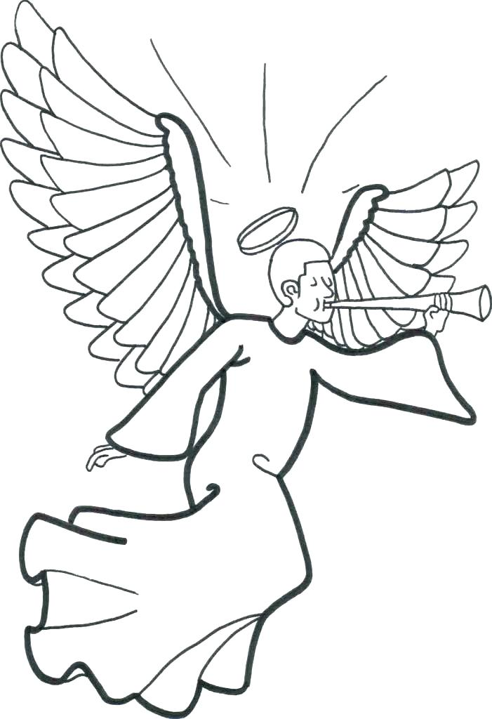 701x1024 Printable Angel Coloring Pages Angel Coloring Page Angel Coloring