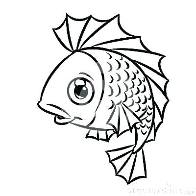 400x400 Cartoon Fish Coloring Pages Angel Fish Coloring Pages Printable