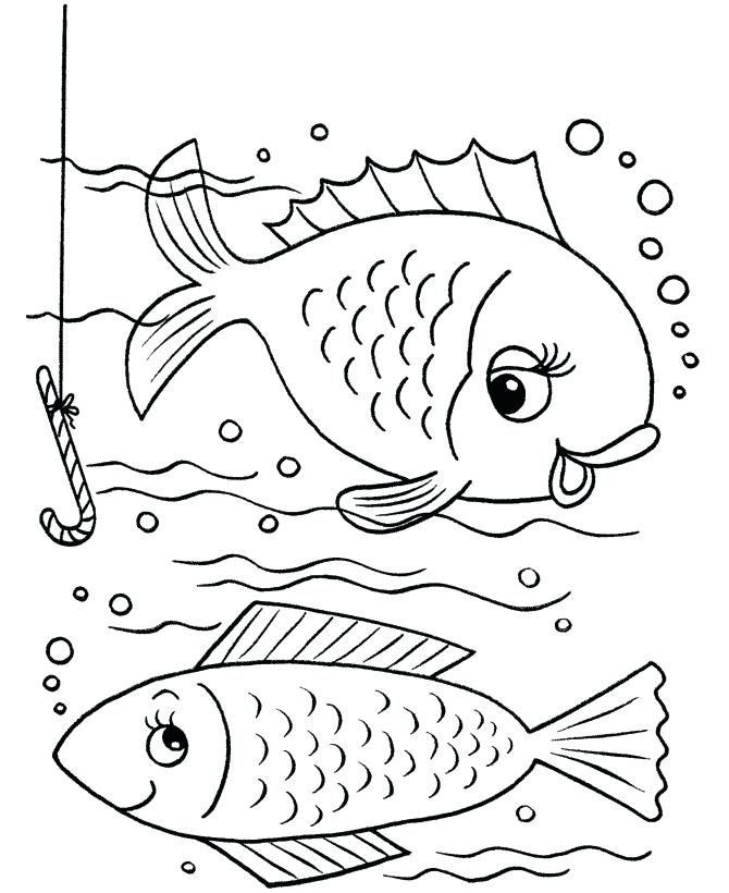 670x820 Colorear Angel Fish Fish Color Pages Also Fish Coloring Pages