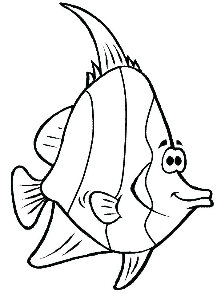 718x957 Colorear Angel Fish Luxury Design Fishing Coloring Pages Printable