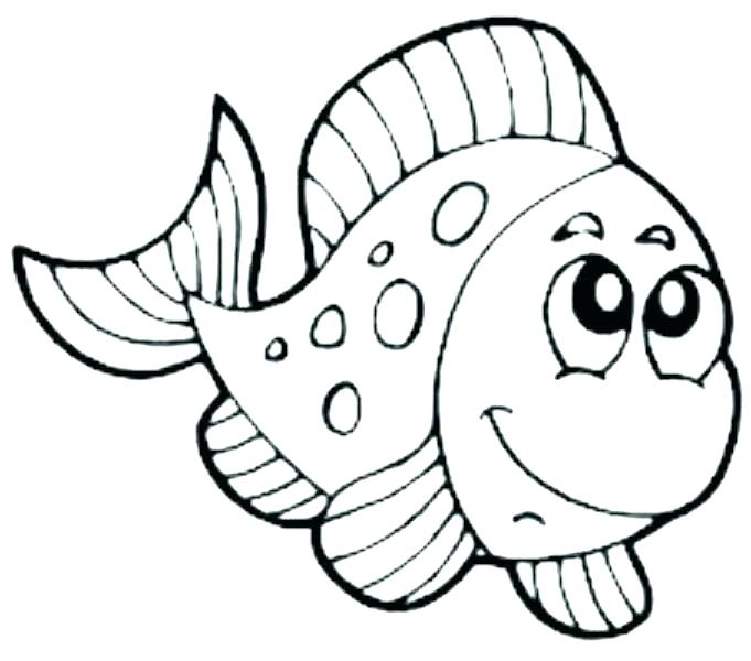 681x600 Fish Coloring Book Goldfish Coloring Page Fish Bowl Coloring Pages