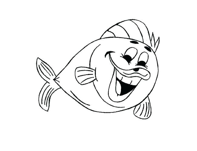 650x500 Fish Coloring Pages Printable Fish Template To Color Fish Coloring