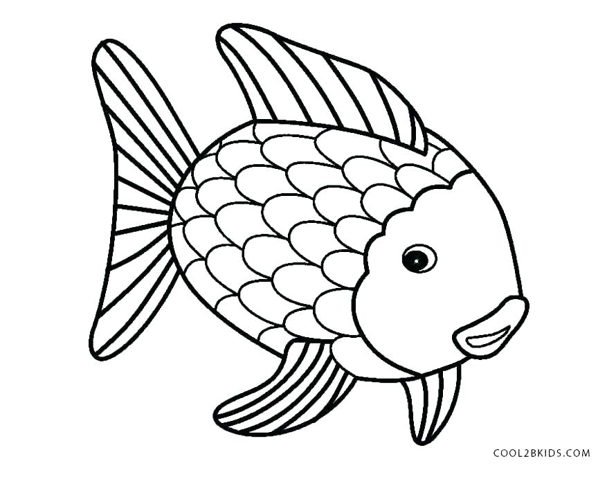 890x689 Printable Fish Coloring Pages Angel Fish Coloring Page Fish
