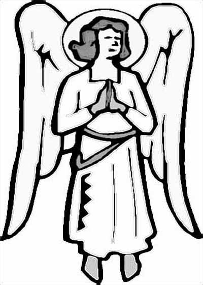 400x560 Angel Coloring Pages For All Kids Creative