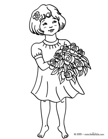 364x470 Gabriel The Angel Coloring Pages