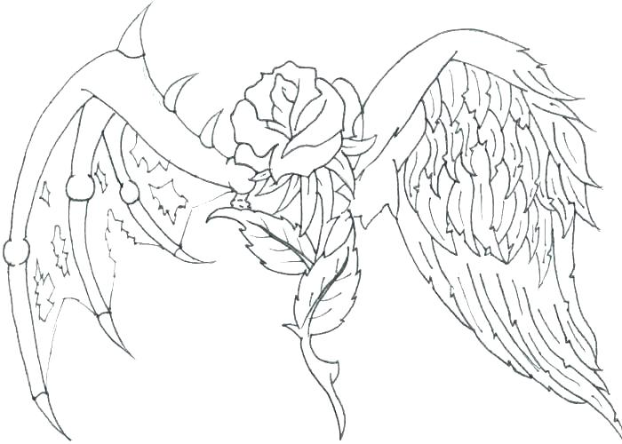 700x500 Coloring Page Angel Coloring Ideas Pro
