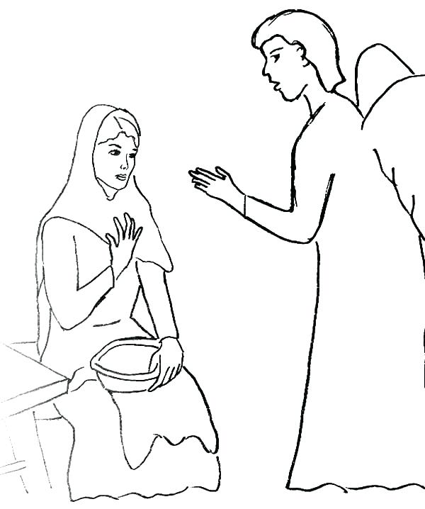 600x718 Angel Gabriel Coloring Page Coloring Sheets Archangel And Coloring
