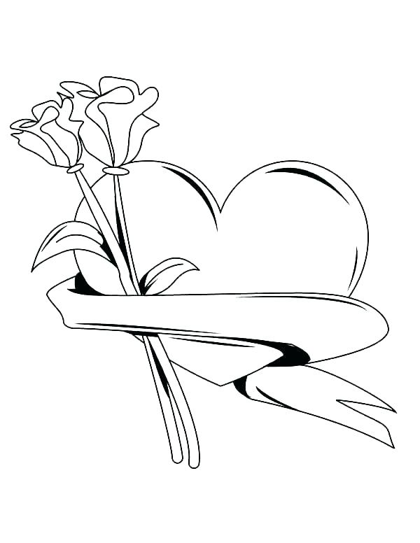 600x776 Hearts With Wings Coloring Pages Angel Wings Coloring Pages Heart