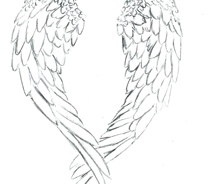 678x600 Heart Coloring Pages With Wings Angel Wings Coloring Pages Luxury