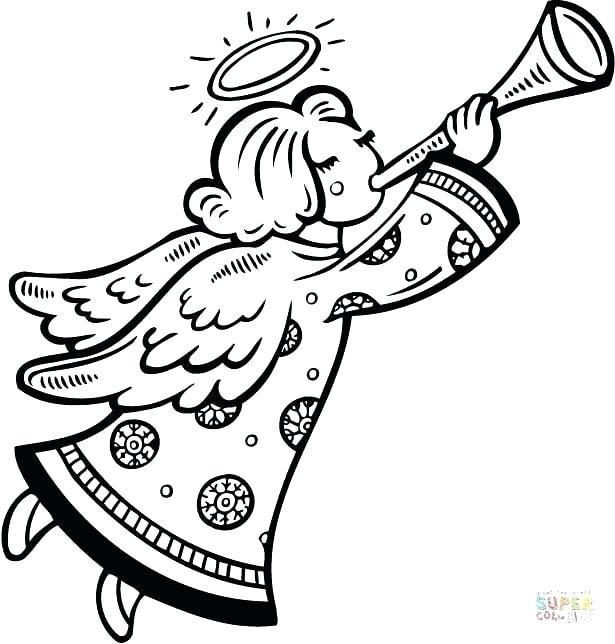 615x644 Large Printable Angel Wings Angel Coloring Pages Printable Sweet