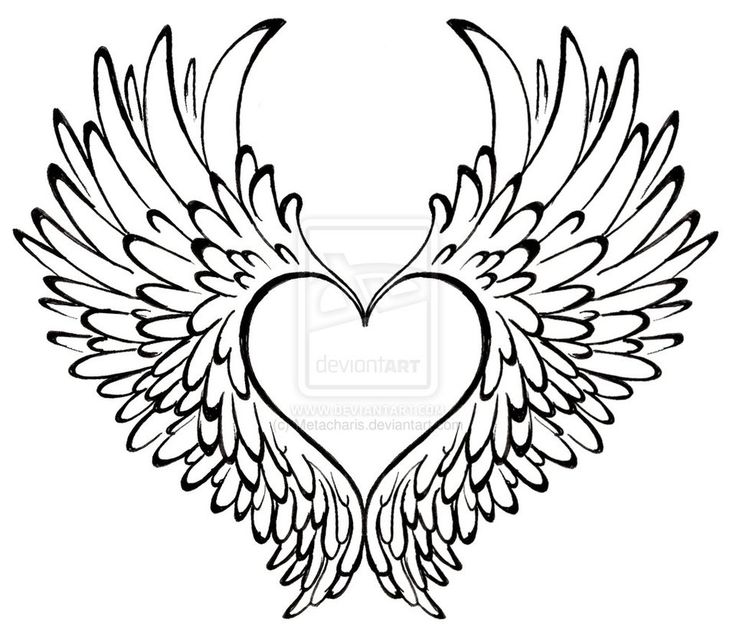 736x637 Heart With Wings Coloring Pages Hearts With Wings Coloring Pages