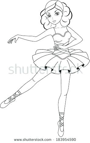 297x470 Free Printable Angelina Ballerina Coloring Pages Book Also Page