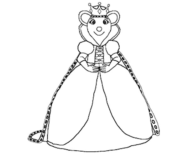 600x499 Queen Seraphina Angelina Ballerina Coloring Pages Batch Coloring
