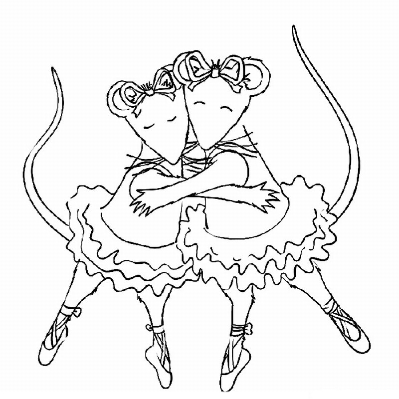 800x800 Angelina Ballerina Coloring Pages Angelina Ballerina Coloring