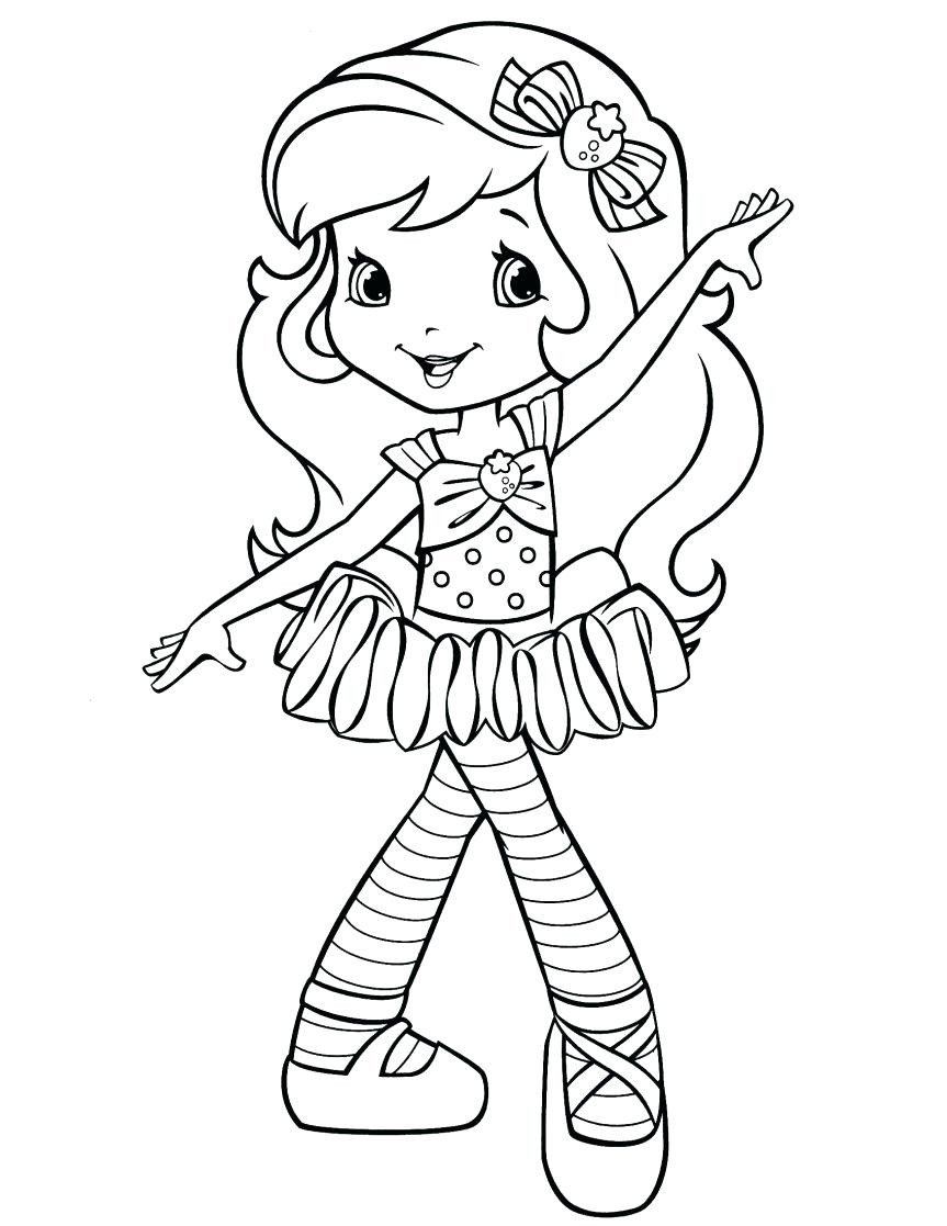 863x1117 Coloring Page Angelina Ballerina Coloring Pages Strawberry
