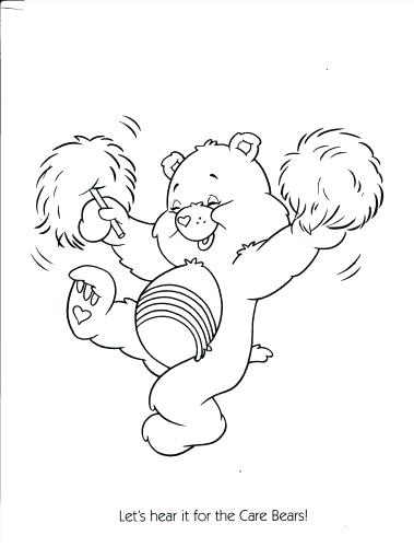 379x500 Bears Coloring Pages Care Bears Coloring Pages Printable