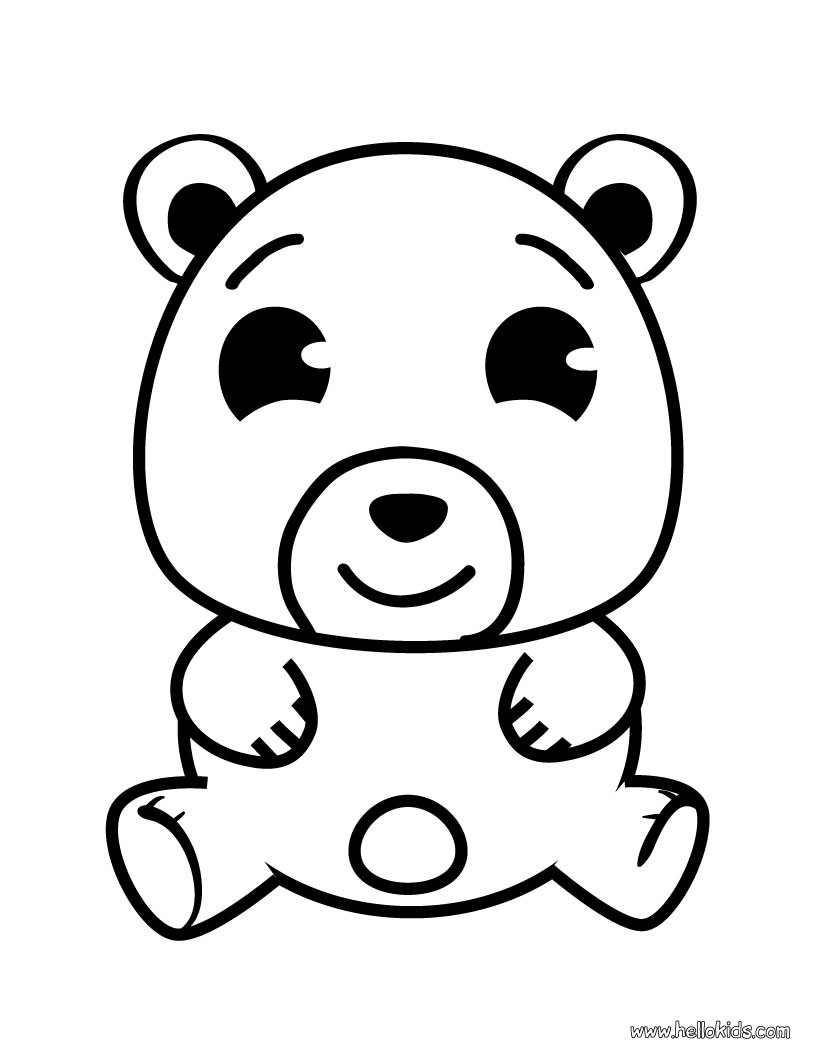 820x1060 Color Online Teddy Bear Coloring Pages