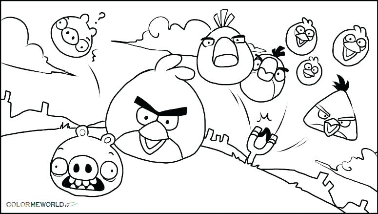 775x438 Angry Bird Colouring Pages Online Icontent