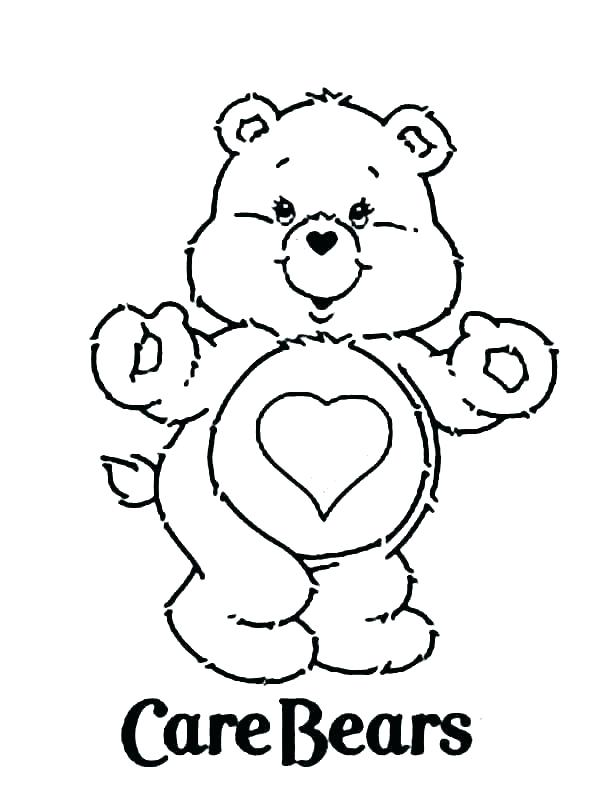600x801 Bear Coloring Pages Grizzly Bear Coloring Pages In Addition