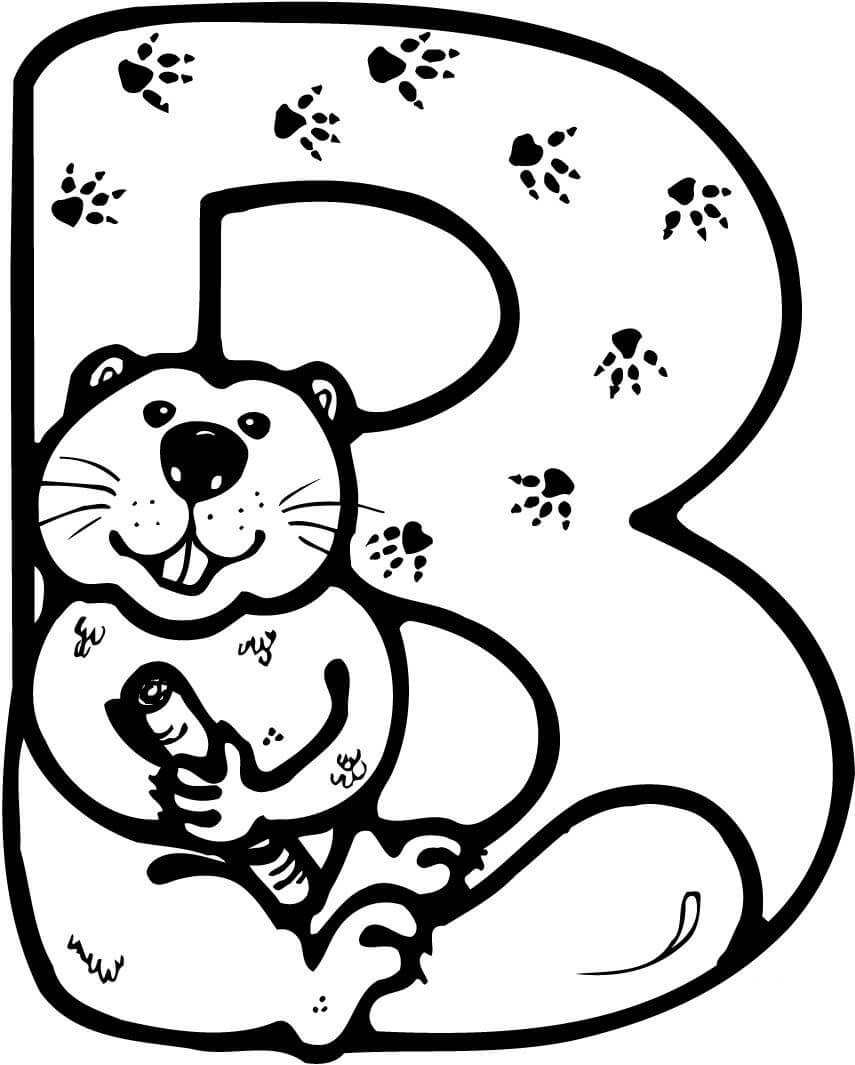 855x1065 I Love To Grind A Lot Beaver Coloring Pages