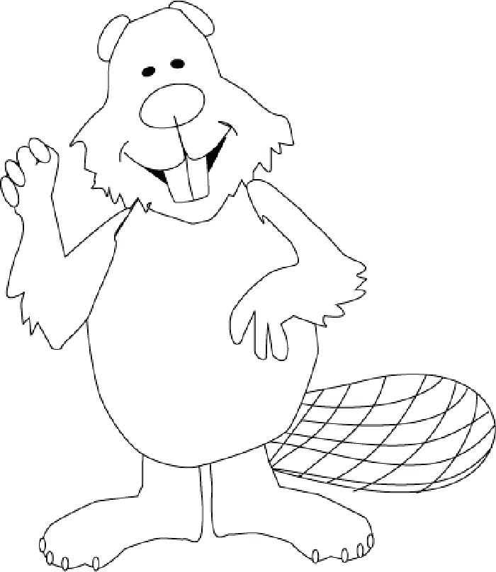 700x808 Beaver Coloring Page Beaver Coloring Beaver Dam Coloring Page