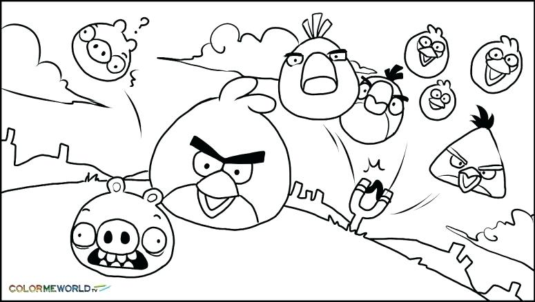 Angry Bird Coloring Pages Pdf At GetDrawings Free Download