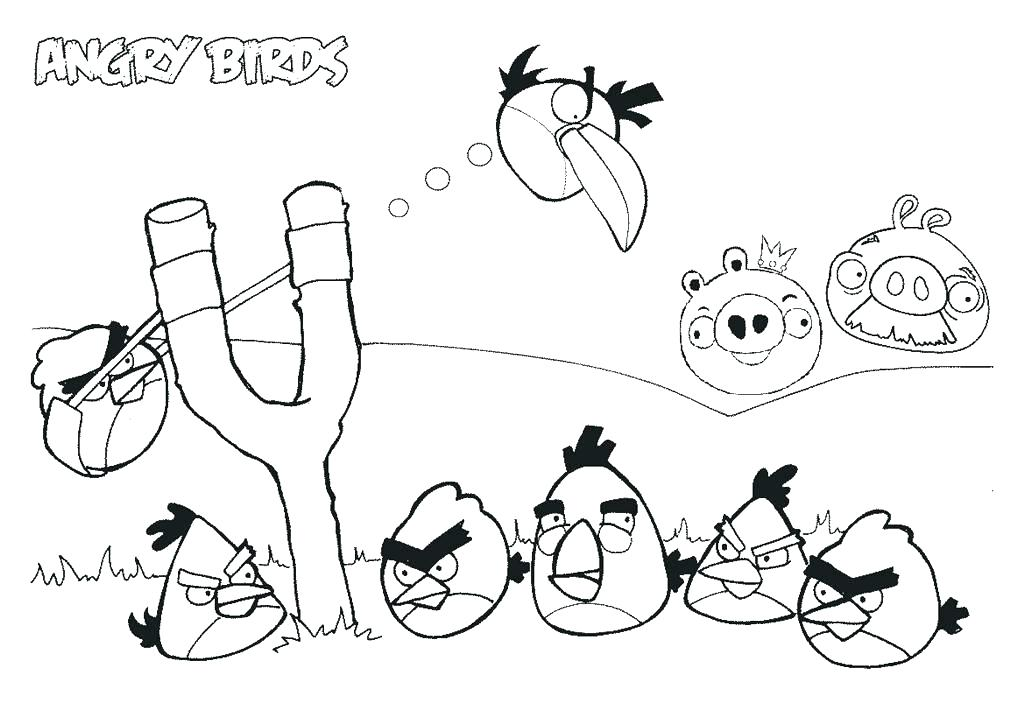 1024x724 Coloring Angry Birds Coloring Pages With Wallpaper Desktop