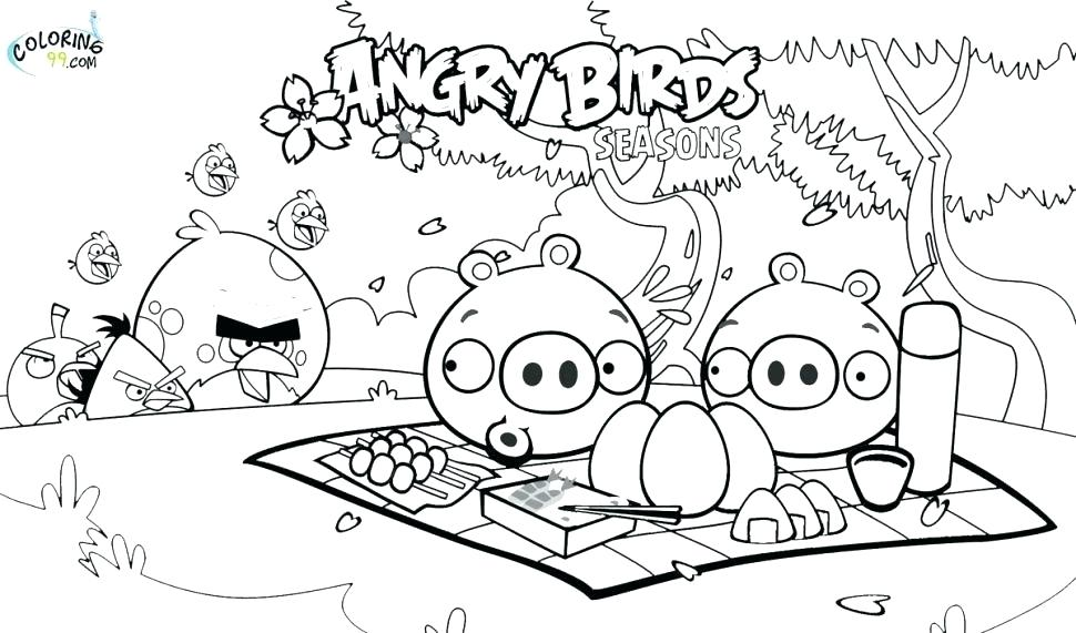 970x571 Angry Bird Coloring Pages Angry Birds Coloring Pages Games Large