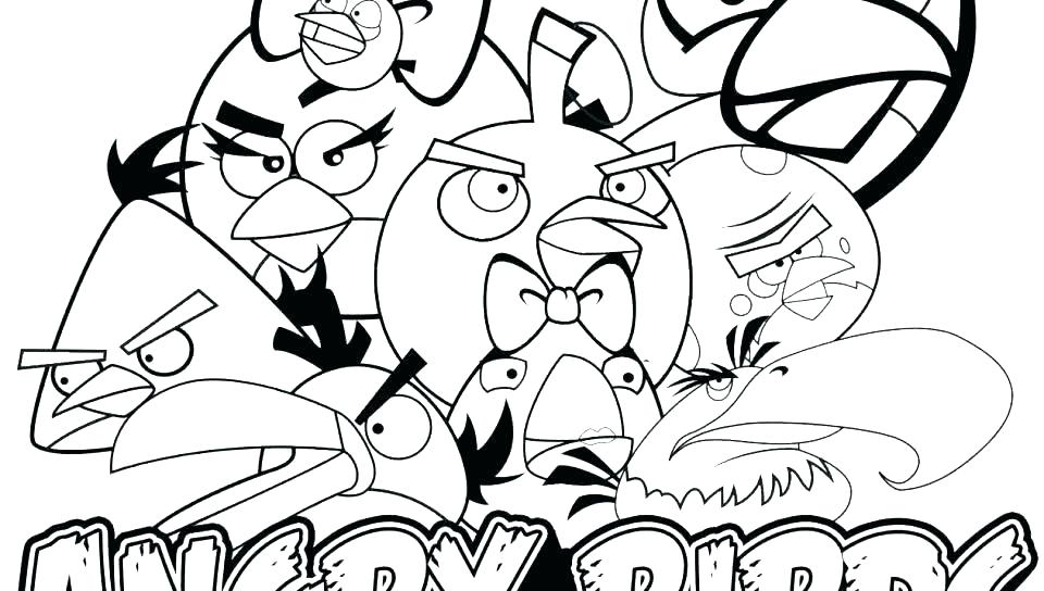 960x544 Angry Bird Coloring Pages Angry Birds Space Coloring Pages Online