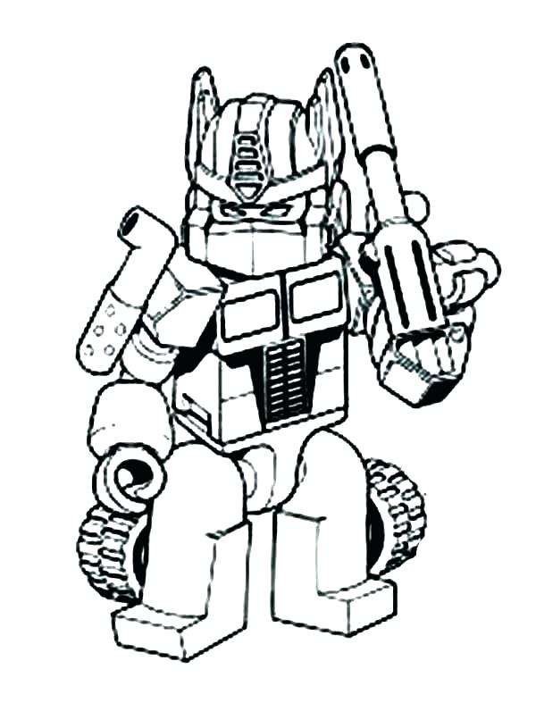 Angry Bird Transformers Coloring Pages At Getdrawings Com