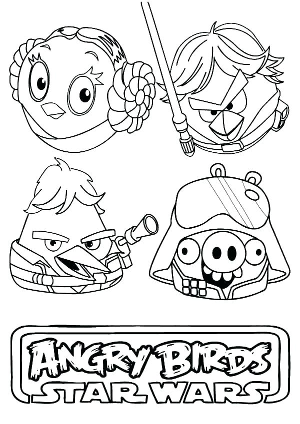 600x849 Coloring Pages Angry Birds Angry Birds Coloring Pages Free Angry