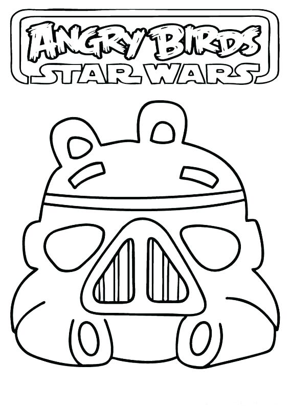 565x800 Angry Bird Star Wars Coloring Sheets Pages Birds