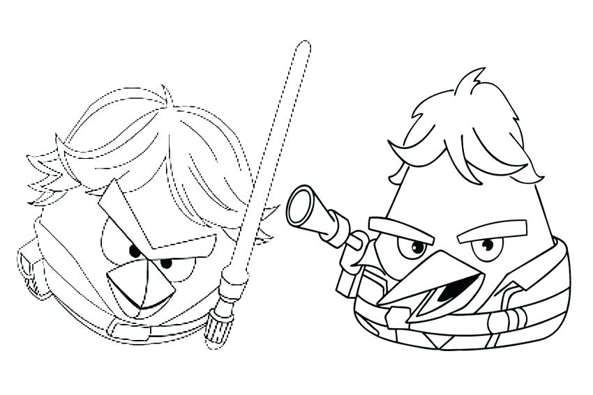 850x567 Star Wars Angry Birds Coloring Pages Coloring Pages Angry Birds