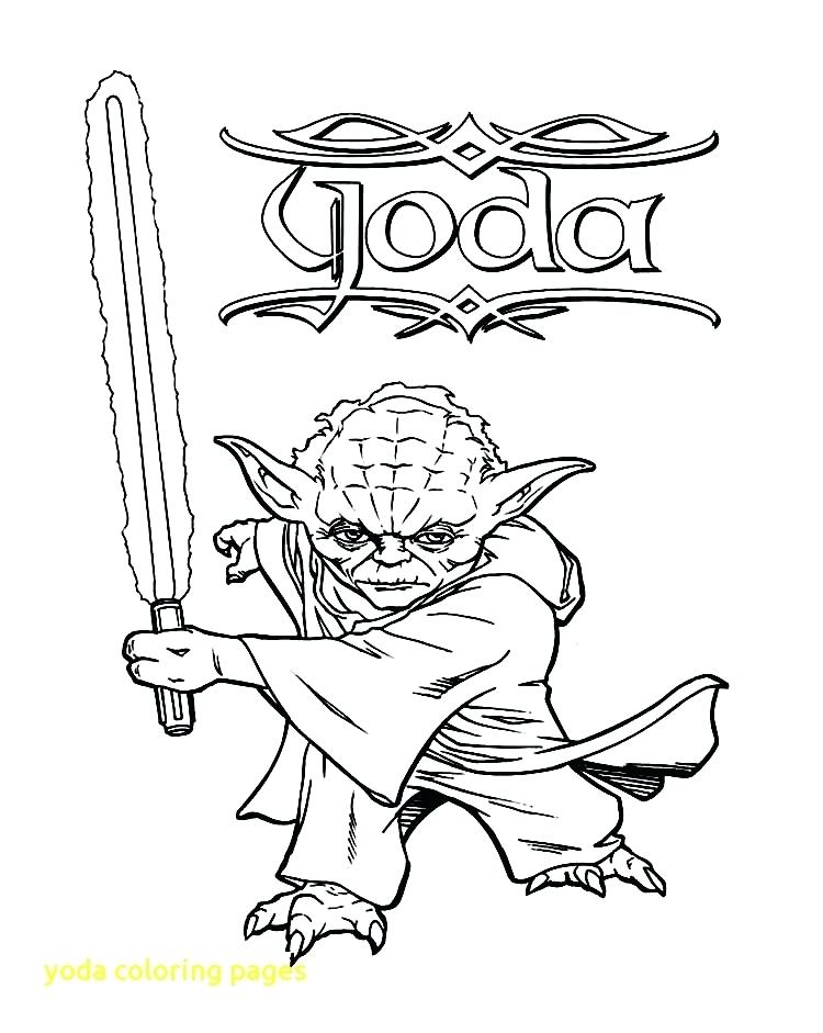 750x941 Yoda Coloring Pages Coloring Pages With Star Wars Coloring Pages
