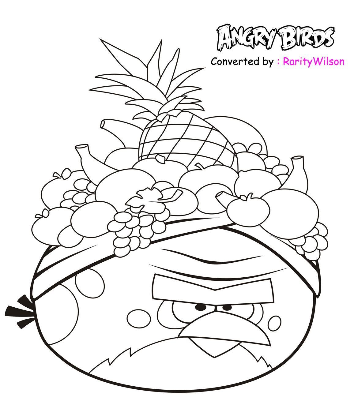 1156x1310 Angry Birds Printables Angry Birds Rio Coloring Pages