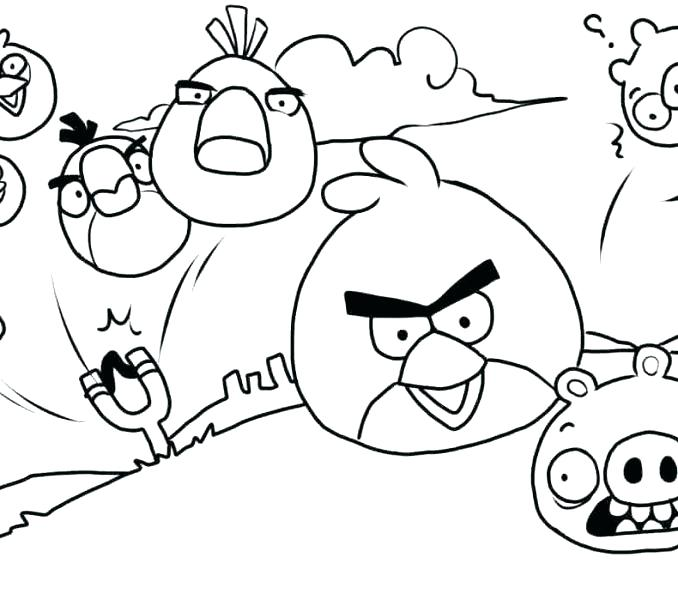 Angry Birds Halloween Kleurplaten.Angry Birds Christmas Coloring Pages At Getdrawings Com Free For