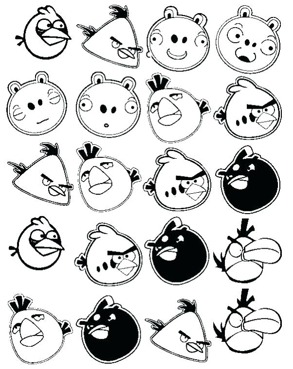 602x760 Angry Birds Colouring Pages Games Coloring Go