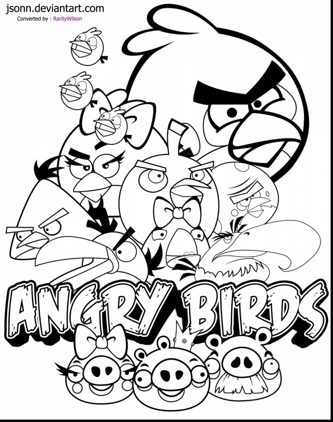 This is a graphic of Angry Bird Printable Coloring Pages with garden