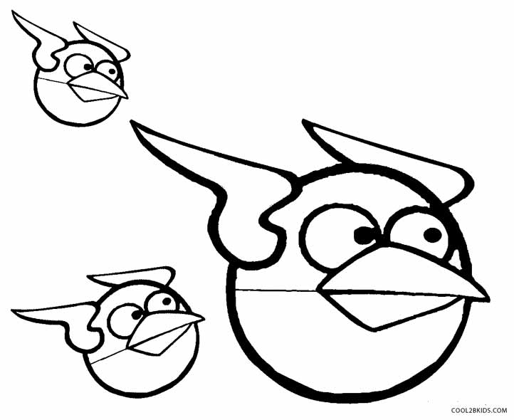 722x590 Printable Angry Birds Coloring Pages For Kids