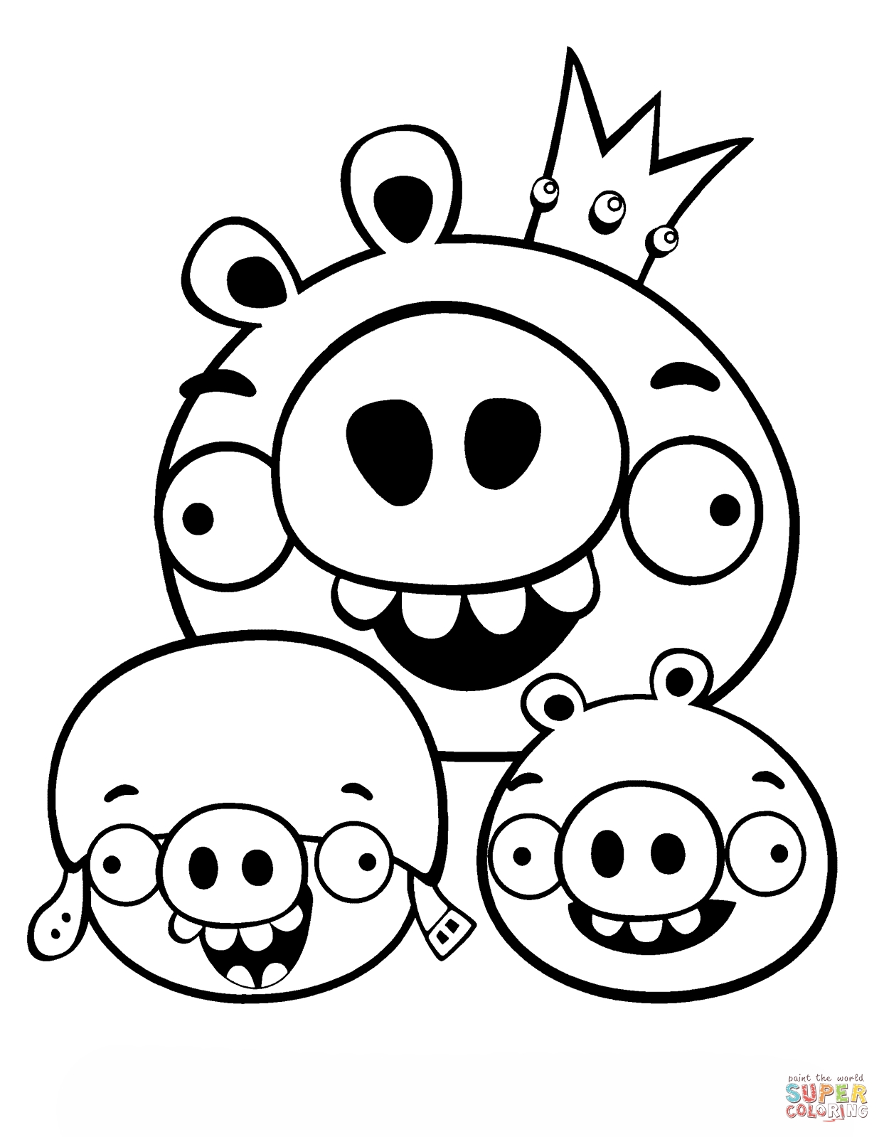1243x1599 Angry Birds Coloring Sheets Funny Coloring Download