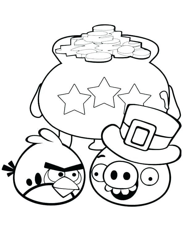 600x740 Coloring Pages Angry Birds Angry Bird Color Angry Bird Coloring