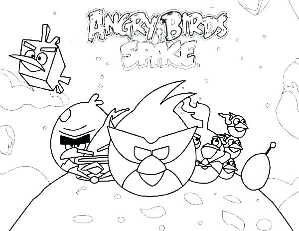 600x463 Angry Bird Coloring Pages