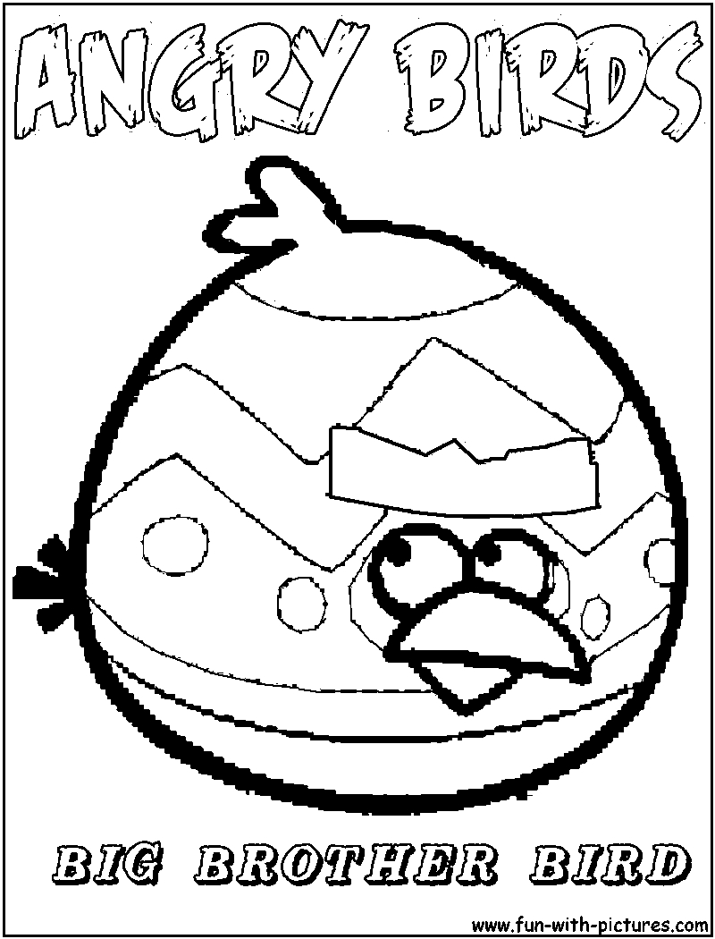 800x1050 Angry Birds Coloring Page Red Bird Printable Coloring Pages Angry