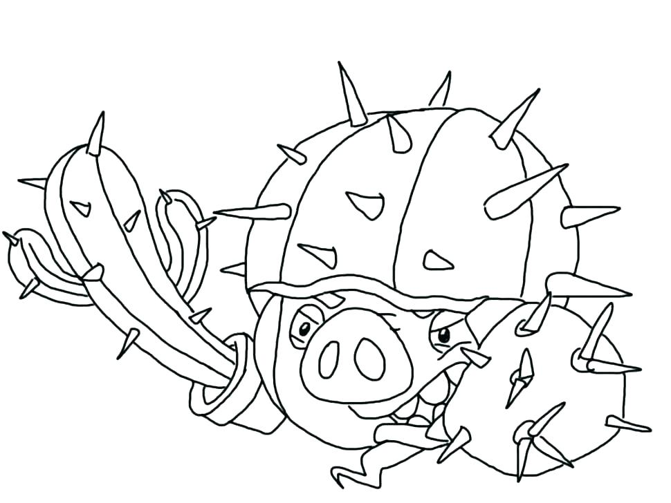 970x728 Angry Birds Coloring Pages Angry Birds Space Red Bird Coloring