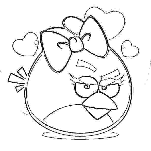 595x595 Angry Birds Coloring Pages Free Angry Birds Angry Bird Game
