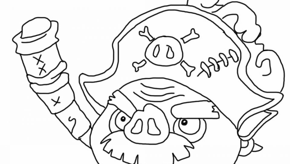960x544 Coloring Pages Angry Birds For Kids Online Epic Pigs High Quality