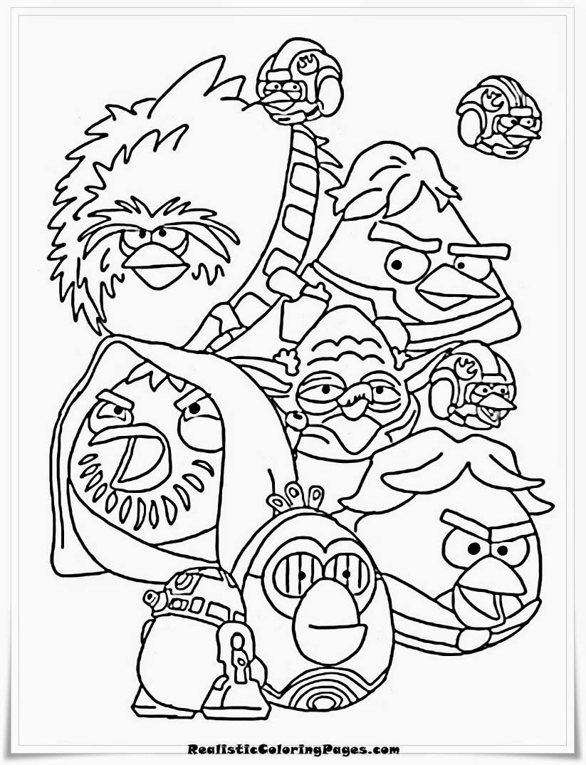 823x1074 Printable Angry Birds Epic Coloring Page Pigs