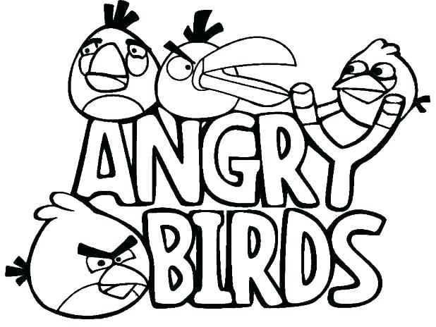 Angry Birds Go Coloring Pages At Getdrawings Com Free For